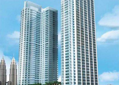 Concept Building Ritz-Carlton – Berjaya Central Park Kuala Lumpur