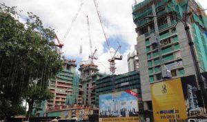 Ritz Carlton Building of Berjaya Central Park Kuala Lumpur. 2010