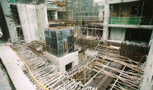 Transfer Beam Structure at Basement of Berjaya Central Park Kuala Lumpur. 2010